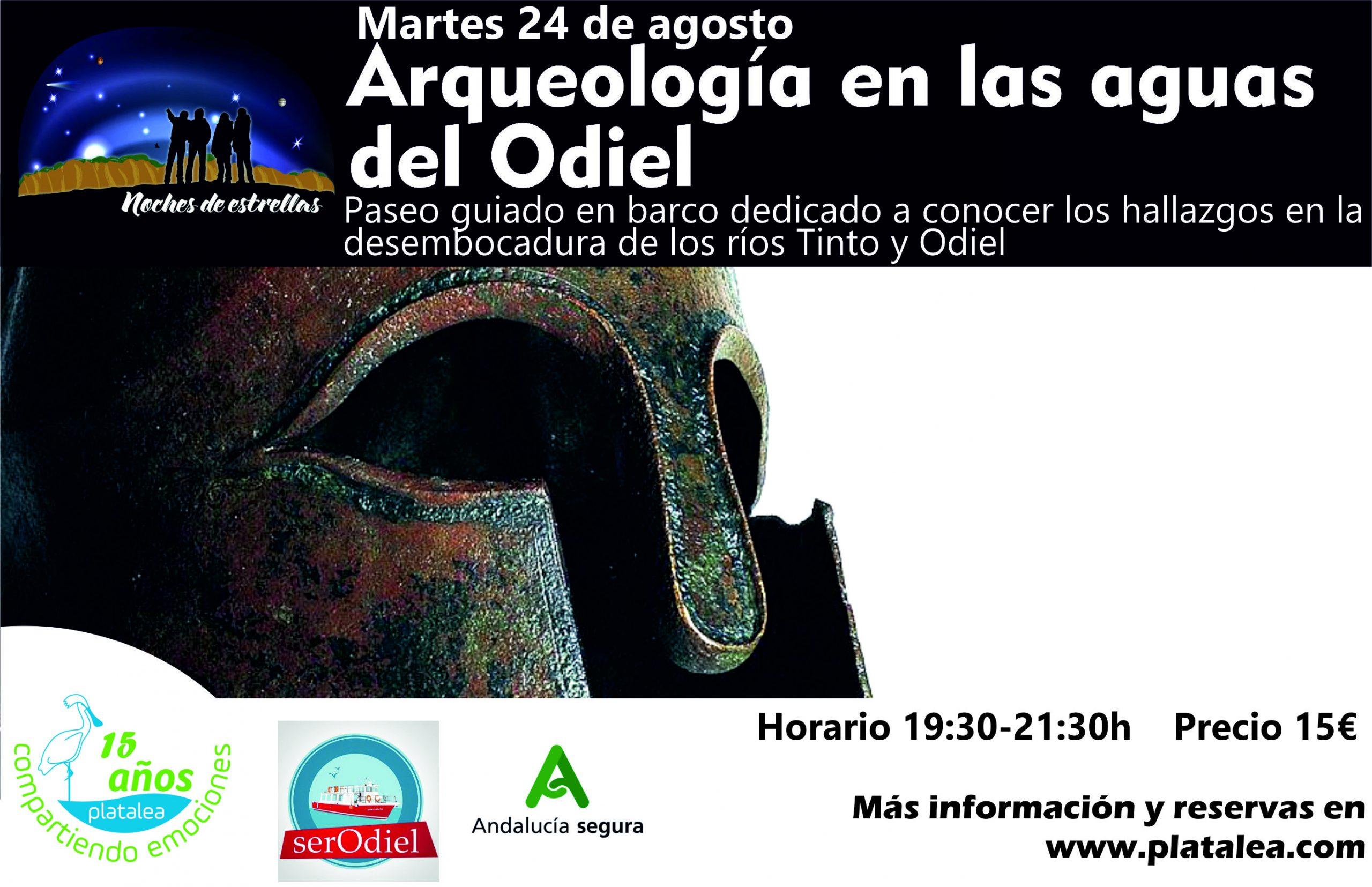 ruta en barco por la ría de Huelva arqueología en las aguas del Odiel